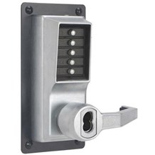 LRP1020M-26D Simplex Pushbutton Exit Trim Lock with Lever (Clearance)