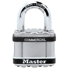 Master Lock No. M5KASTS Commercial Magnum Padlock (Match to Existing Key Number)