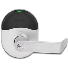 Schlage NDE80LD-RHO Grade 1 Rhodes Storeroom Door Lever with ENGAGE™ Technology (Less Cylinder)