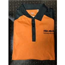 Spend $200: Free Orange Collared Shirt by Taylor Security & Lock