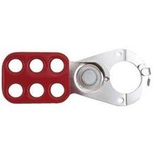 STO801 Lockout Steel Hasp w/ Interlocking Tabs - 1