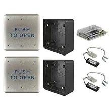 Ditec Entrematic W6-133 Wireless Push Button Activation Package