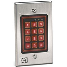 IEI 212w Flush Mount Keypad (Indoor/Outdoor)