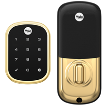 Yale Pro SL YRD256-ZW2 Real Living Key Free Touchscreen Deadbolt (Z-Wave Plus)