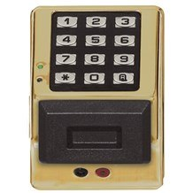Alarm Lock PDK3000 Trilogy 2000 User Weatherproof Electronic Digital Keypad w/ Proximity Access