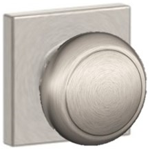 Knobs by Schlage: Andover Knob (Collins Rosette)