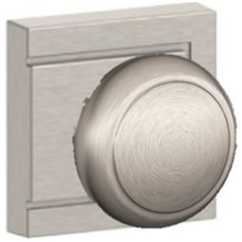 Knobs by Schlage: Andover Knob (Upland Rosette)