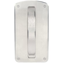Accurate Lock CP-164SS Crescent Rigid Surface Mounted Pull