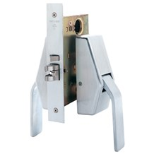 Schlage HL6 Mortise Antimicrobial Push / Pull Latch (Hospital Latch)