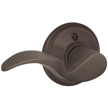 F170-AVA-613-LH Schlage Avanti Single Dummy Left Hand Lever in Oil Rubbed Bronze (Discontinued)