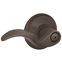 F40-AVA-613 Schlage Avanti Privacy Lever in Oil Rubbed Bronze (Discontinued)