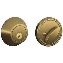 Schlage JD60-609 Single Cylinder Deadbolt from the J-Series (Formerly Dexter)