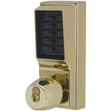 1041R-03 Simplex Pushbutton Lock with Knob w/ Key Override & Passage Mode (Sargent)