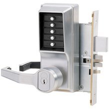 8146 Simplex Pushbutton Grade 1 Mortise Lock