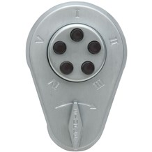 9060000 Simplex Mechanical Pushbutton Lock w/Key Override
