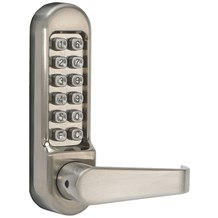 Simplex LD470 Series Mechanical Pushbutton Door Lever Lock